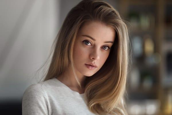 Картинка на телефон: Maxim guselnikov, взгляд, русая, девушка