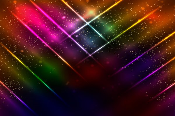 Обои colorful, neon, glittering, abstract
