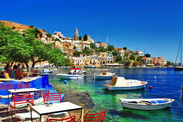 Обои греция, остров, holiday, побережье, shore, symi island, greece
